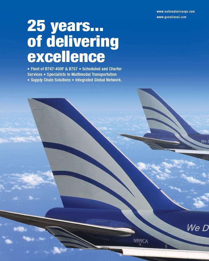 NATIONAL AIRLINES   transport logistic China   logistics